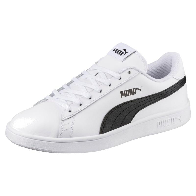 quality design 162ec dcdc2 ... Scarpe sportive Sneakers Puma SMASH V2 L Uomo Bianco Nero - Sport Shoes  Sneakers Puma SMASH ...