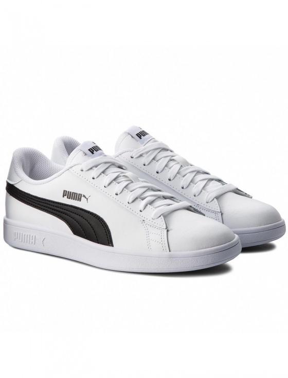 sports shoes 827a2 b9ce9 Scarpe sportive Sneakers Puma SMASH V2 L Uomo Bianco Nero - Sport Shoes  Sneakers Puma SMASH ...