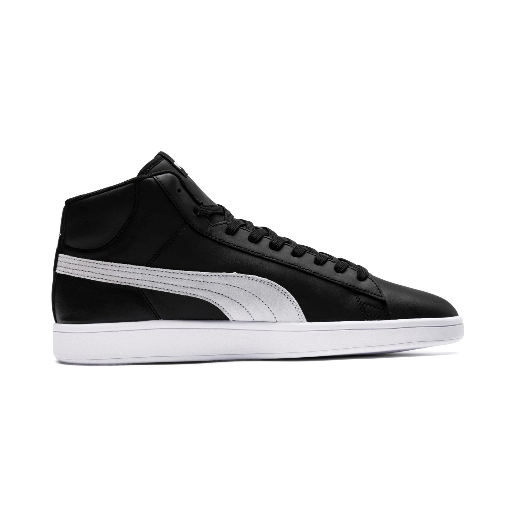 Puma-Scarpe-Sneakers-Sportive-Sportswear-SMASH-V2-L-Mid-2018-19-Nero-Uomo miniatura 9