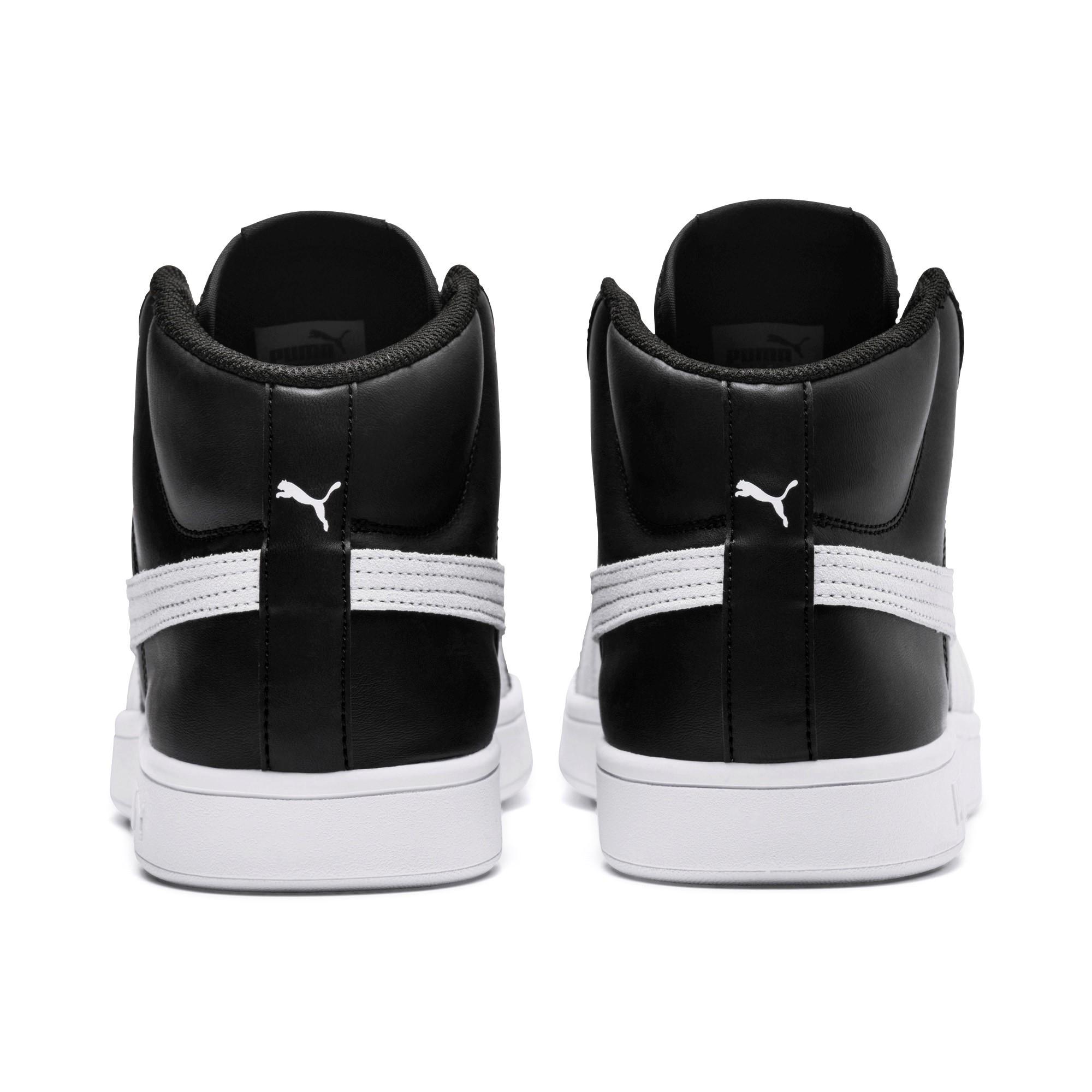 Puma-Scarpe-Sneakers-Sportive-Sportswear-SMASH-V2-L-Mid-2018-19-Nero-Uomo miniatura 4