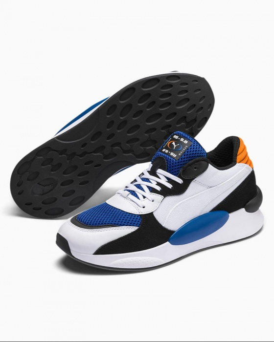 Dettagli su Puma Scarpe Sportive Sneakers Running RS 9.8 cosmic Bianco sportswear Uomo