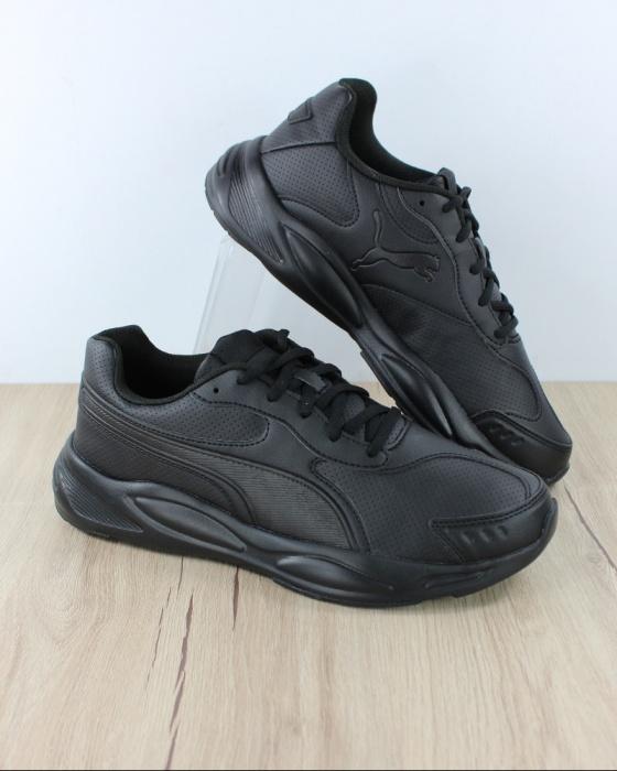 Dettagli su Puma Scarpe Sportive Sneakers Running 90s Runner SL Uomo Nero