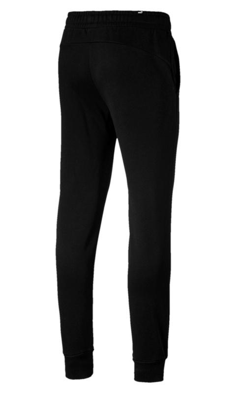 02cc9d1ed13c ... Pantalone Tuta felpa Puma Essential Fleece sweatpant Joggers nero uomo  cotone - Sport pant suit Puma ...