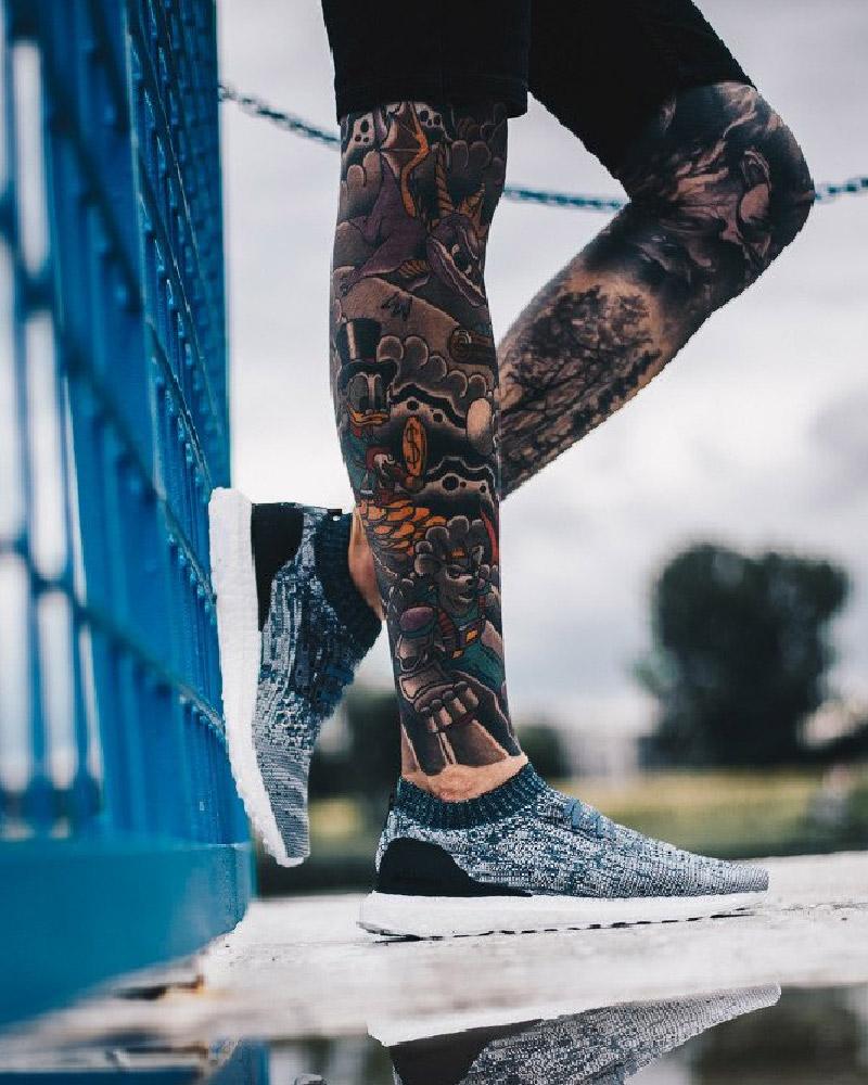super popular f40a0 8f793 Adidas PARLEY Chaussures de course Sneakers Running Shoes Trainers Gris 9 9  sur 9 Voir Plus