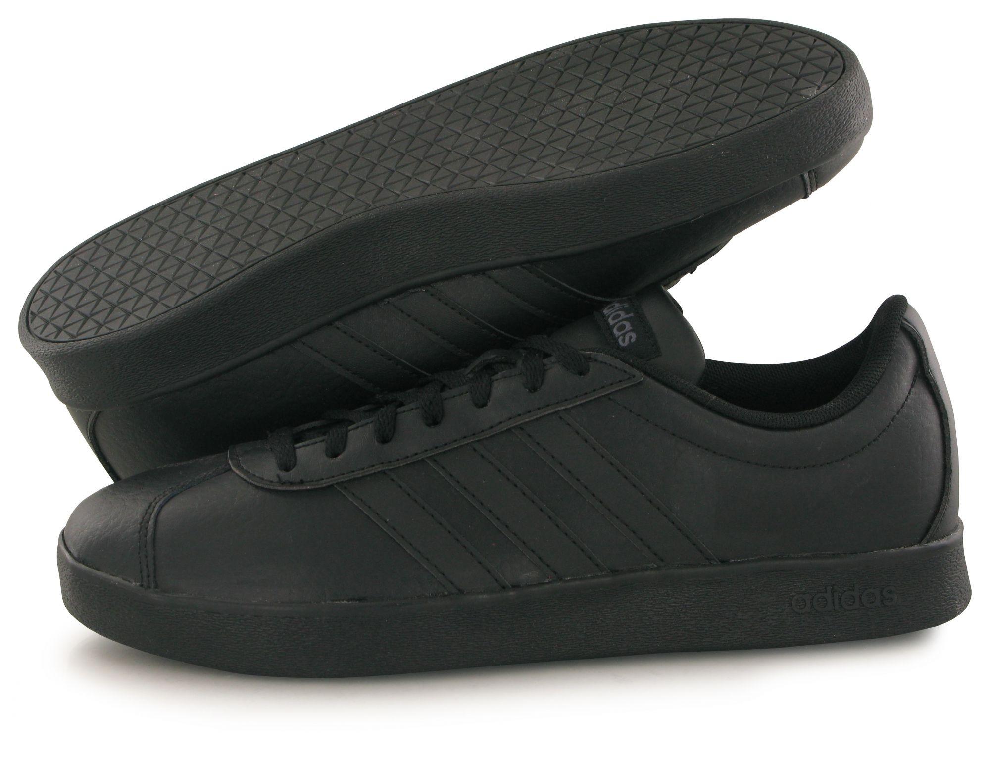 finest selection a556f ee9e7 Adidas Scarpe Sneakers Sportive Ginnastica Nero vl court 2.0 gazelle style  8 8 di 8 Vedi Altro