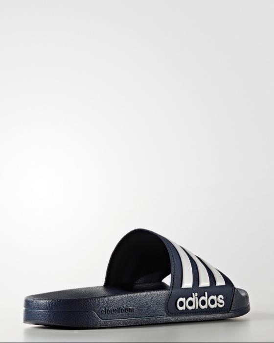 dc539cee70c3 ... Ciabatte Adidas ADILETTE cloudfoam Blu Unisex piscina mare palestra -  Adidas slippers ADILETTE cloudfoam Navy Unisex ...