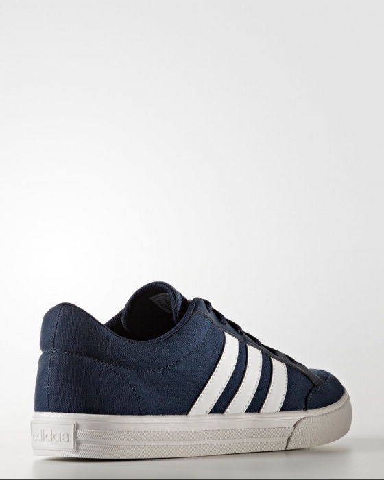 premium selection c1392 bd2f8 ... Scarpe Ginnastica Sneakers Adidas Neo VS SET Uomo canvas Blu Originale  - Sneakers Sport Shoes Adidas