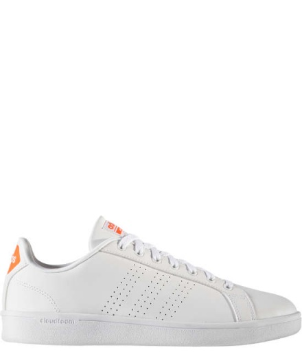 Adidas Sport Schuhe Boots Shoe Neo Cloudfoam Advantage Weiss Stan smith style
