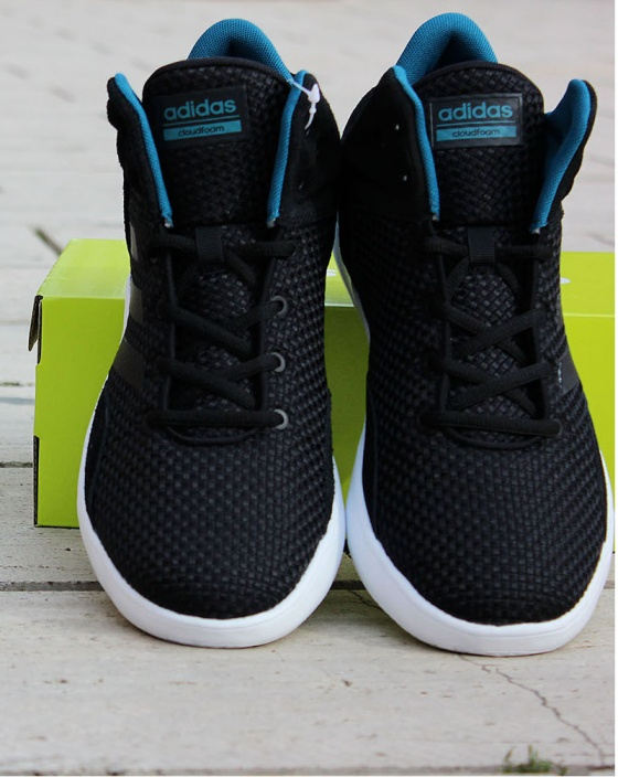Scarpe Ginnastica Sneakers Originale Adidas Neo CLOUDFOAM REVIVAL MID  Basket Uomo 2017 Nero - Gymnastics shoes ... 8da65b60f