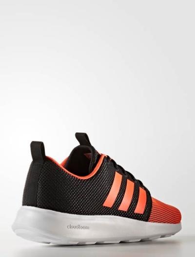 new style 11f40 7d483 ... buy scarpe ginnastica sneakers originale adidas neo cloudfoam super  racer uomo nero arancione 65db0 15b50