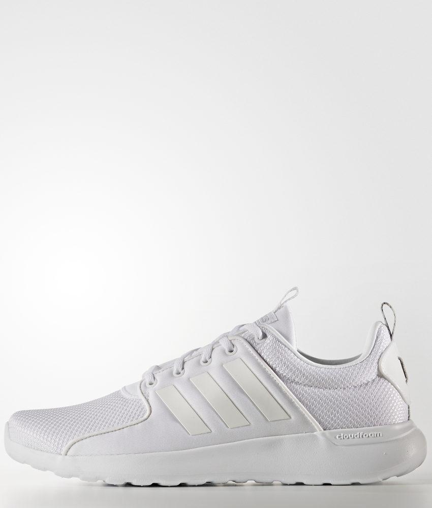 Bianco 46 2/3 EU adidas CF Lite Racer Scarpe Running Uomo Footwear l19