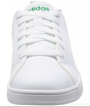 zapatillas adidas blancas y verdes