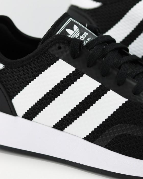 Dettagli su Adidas Originals Trefoil Scarpe Sportive Sneakers Uomo Nero Footwear N 5923