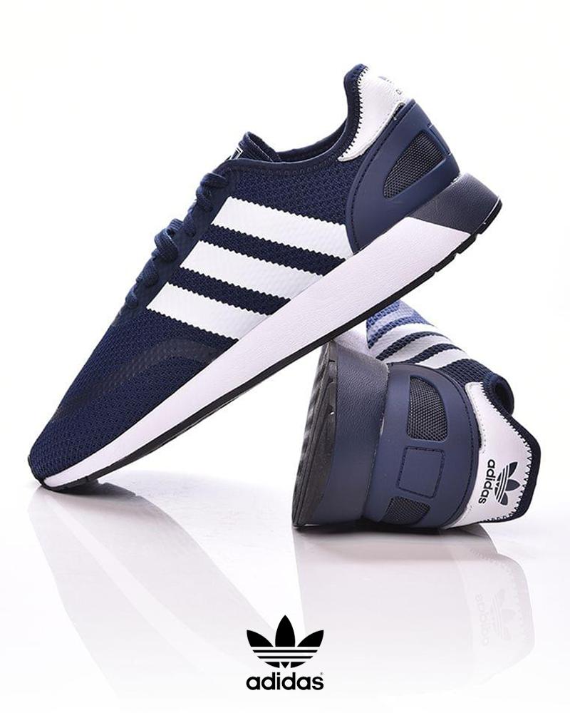 Adidas-Originals-Trefoli-Scarpe-Sneakers-Trainers-Sportive-N-5923-Blu miniatura 7