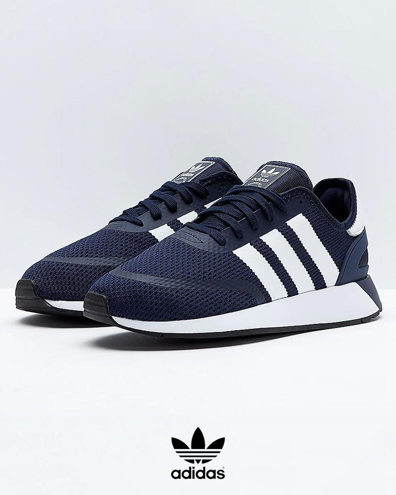 Adidas-Originals-Trefoli-Scarpe-Sneakers-Trainers-Sportive-N-5923-Blu miniatura 6