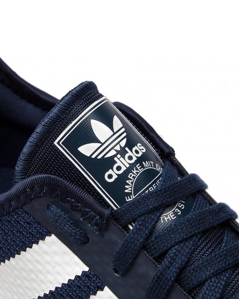 Adidas-Originals-Trefoli-Scarpe-Sneakers-Trainers-Sportive-N-5923-Blu miniatura 3