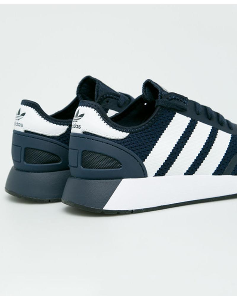 Adidas-Originals-Trefoli-Scarpe-Sneakers-Trainers-Sportive-N-5923-Blu miniatura 5