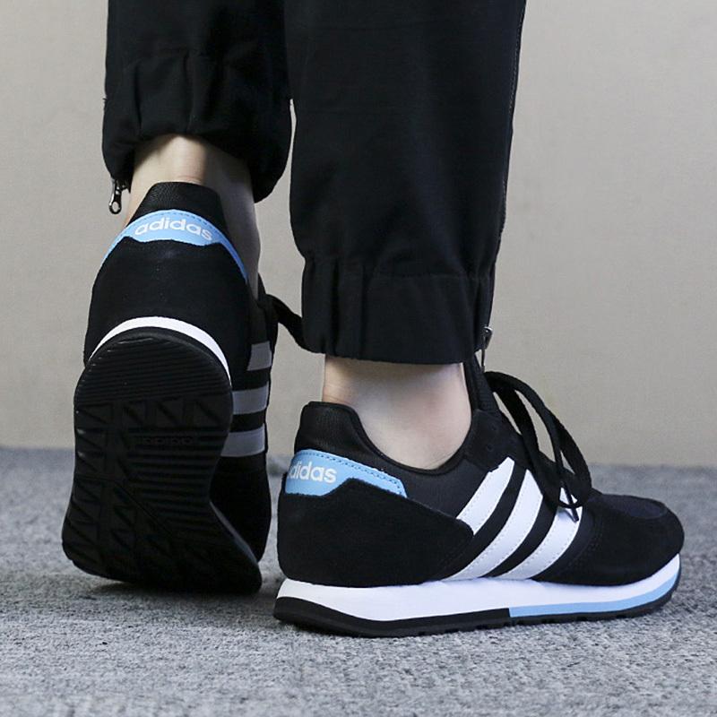 Adidas Scarpe sportive Sneakers lifestyle Sportswear Donna Nero 8 K