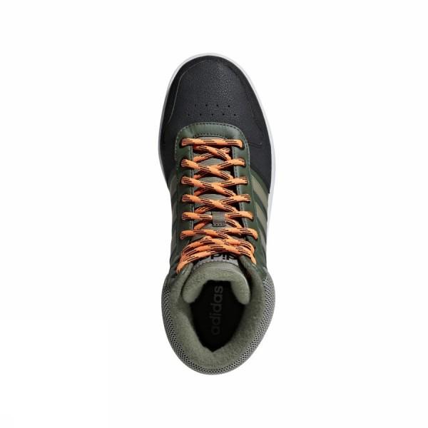 reputable site 3104a 8872c Adidas Scarpe Sneakers Sportive Verde Caviglia alta HOOPS 2.0 MID