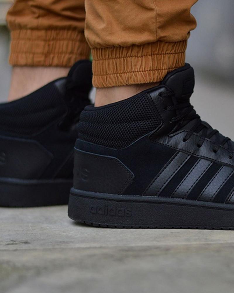 Adidas 2.0 Schuhe Sneakers Sportive HOOPS 2.0 Adidas MID Nero caviglia alta e60900