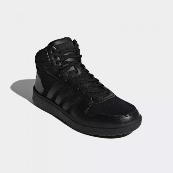 sports shoes 0387f 802a5 ... Scarpe da ginnastica adidas HOOPS 2.0 MID Sneakers caviglia alta Uomo  Total Nero - sneakers sport