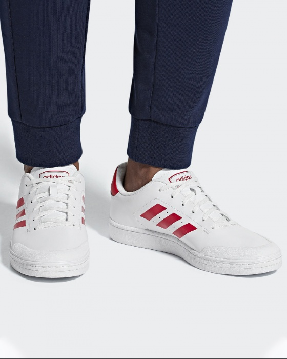 Details about Adidas Sneakers Sport Shoes White Court70S Men Lifestyle Sportswear