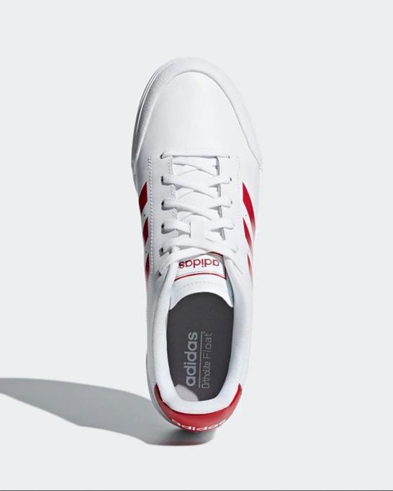 Dettagli su Adidas Scarpe Sportive Sneakers Bianco Court70S Uomo Lifestyle Sportswear