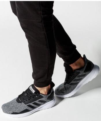 Detalles de Adidas Zapatillas Deportivas Gimnasio Zapatillas Gimnasia Running Duramo 9M Gris