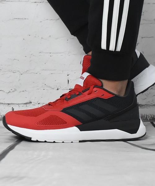 Adidas Schuhe Schuhe Adidas Sneakers Sportive Rosso Nero RUN80S 2018 1670a9