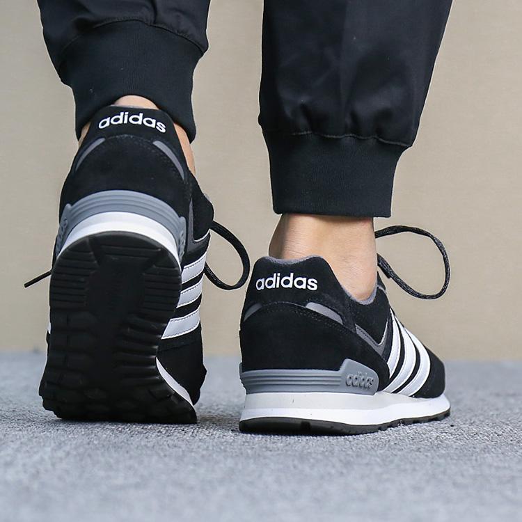 super popular 3522d a2a60 Adidas Scarpe Sneakers Sportive 10K Uomo Nero Bianco SportsWear LifeStyle  2018 8 8 di 9 ...