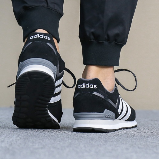 uk availability 65e87 5fe5d Shoes Sneakers Sportif Homme Adidas Chaussures 10k Blanc Sport Noir  qSw77HtRn
