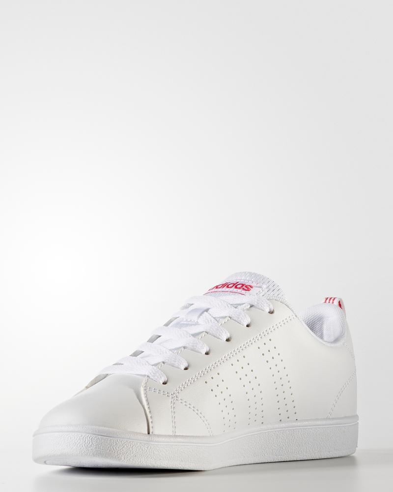 buy popular cada4 1a169 Adidas Scarpe Sportive Sneakers Advantage Ragazzo Donna Bianco Rosa 3 3 di  9 ...