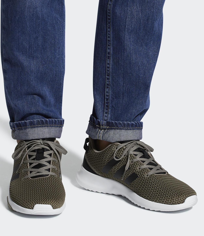 8 sur 9 Adidas Scarpe Sneakers Sportive Ginnastica Tennis CF Racer Trail  Verde a15205edd40e1
