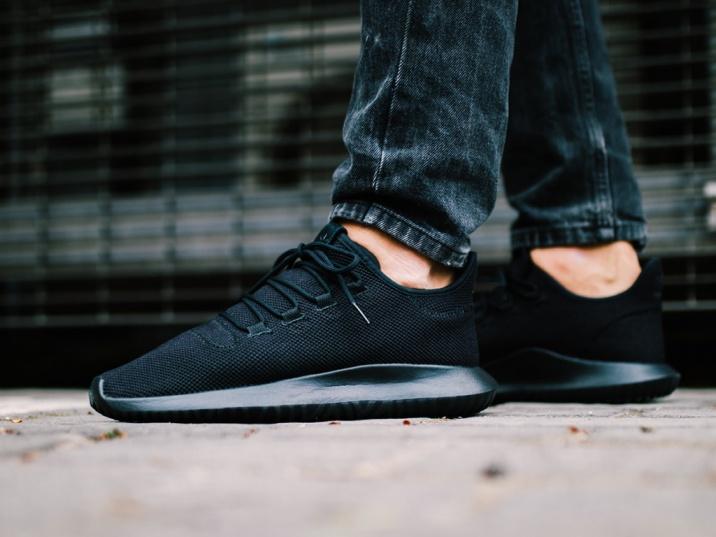 size 40 9b02f 5cbfb ... Scarpe ginnastica Sneakers Adidas Originals Tubular Shadow CK Total Nero  Uomo - Sneakers sport shoes boots