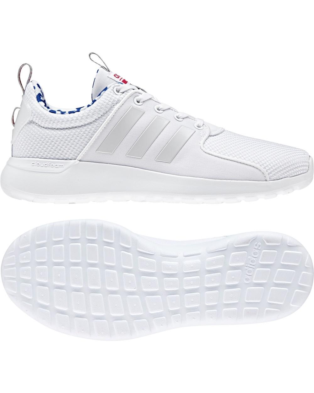 5 di 10 Adidas Scarpe ginnastica tennis sportive Sneakers Unisex Bianco Lite  Racer 3882b9dbf2a15