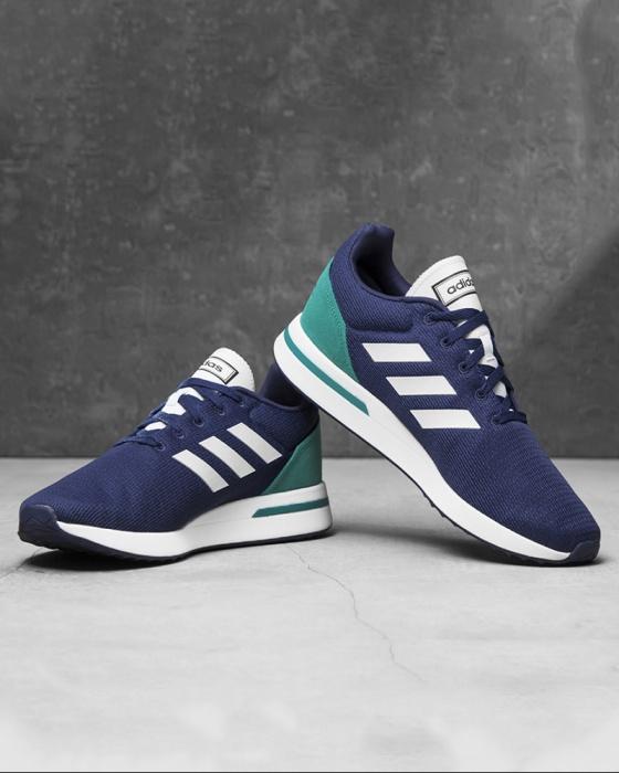 adidas scarpe nere verdi e blu