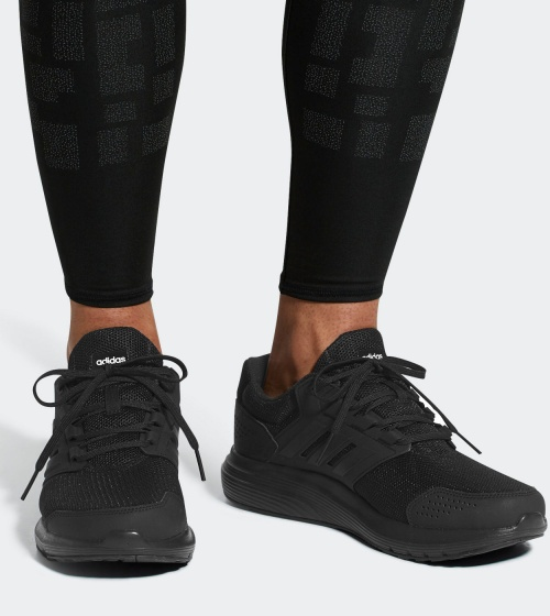 best website 542c3 8128a ... Adidas Running sneakers shoes Training gymnastics Galaxy 4 m man Total  black-Sport shoes sneakers ...