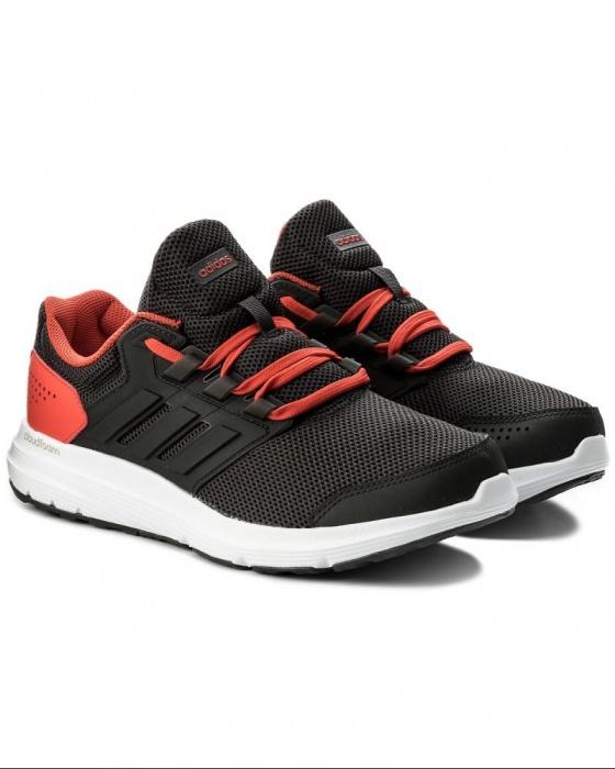08b8c8400338 ... Scarpe sportive sneakers Running Training ginnastica tennis Adidas  Galaxy 4 m Uomo Antracite Arancione - Sport ...