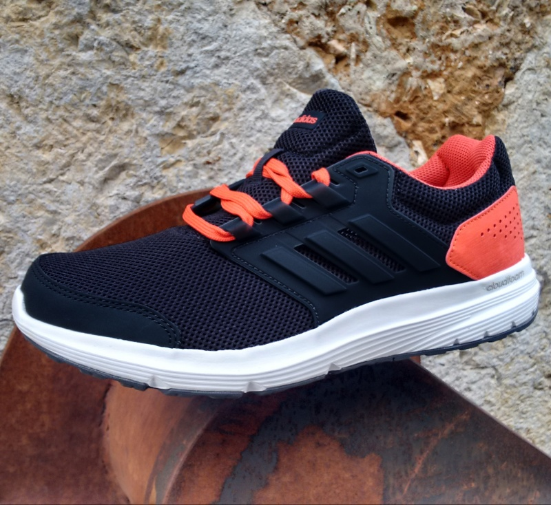 finest selection 0c86f b01ce ... Scarpe sportive sneakers Running Training ginnastica tennis Adidas  Galaxy 4 m Uomo Antracite Arancione - Sport ...