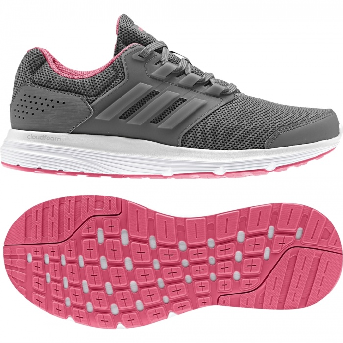 new concept d07bd 6c4ad ... Scarpe Ginnastica Sneakers Running Donna Adidas Galaxy 4 W Grigio -  Running Sport trainers Sneakers Shoes ...
