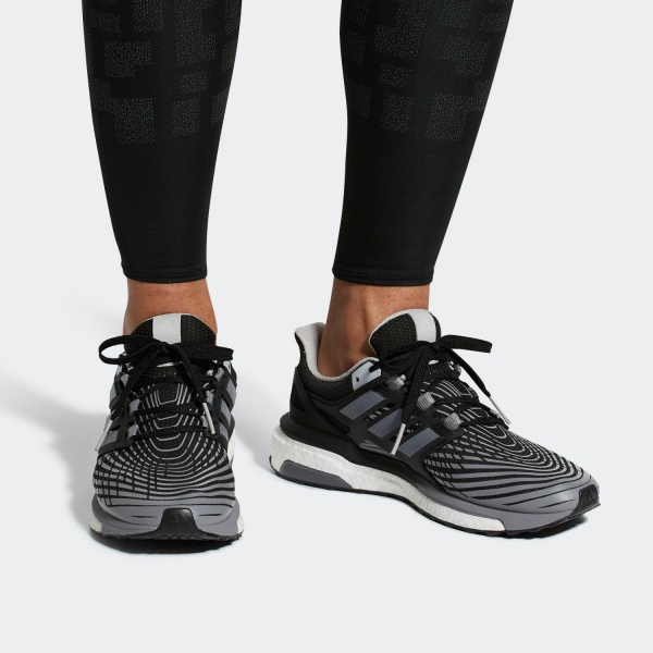 Adidas Running Shoes Running Shoes Sneakers Energy Boost M Black Ebay