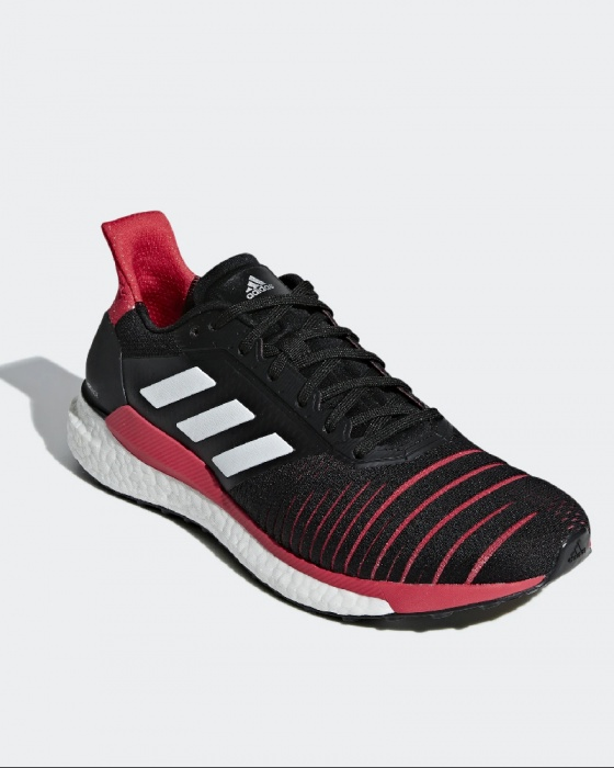 Adidas Scarpe Corsa Running Shoes Sneakers Trainers Solar Boost Uomo 2019 Nero | eBay