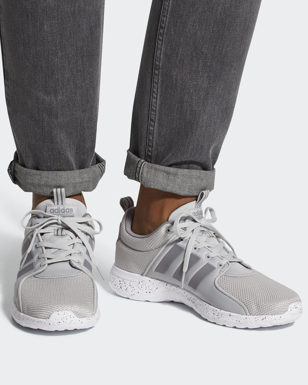 Adidas Sport Schuhe Trainers Running Shoe Grigio Pois CF Lite Racer | eBay