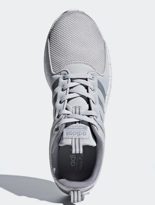 Adidas Scarpe Sneakers Running Sportive Ginnastica Grigio Pois CF Lite Racer d74aefaa009