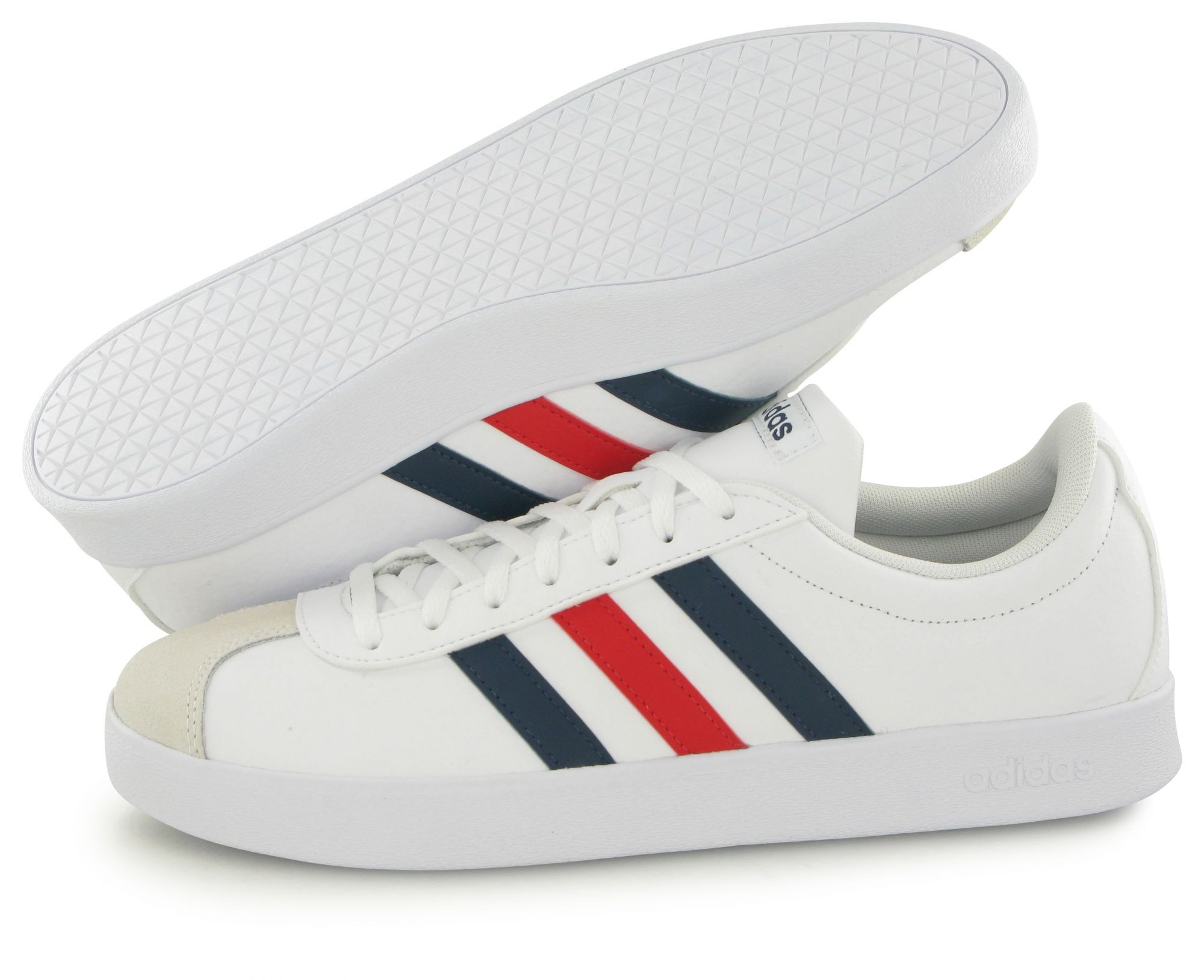 newest 1b0c9 b9628 Adidas Scarpe Sneakers Ginnastica Tennis Sportswear Lifestyle Vl Court  Bianco 7 7 di 8 ...