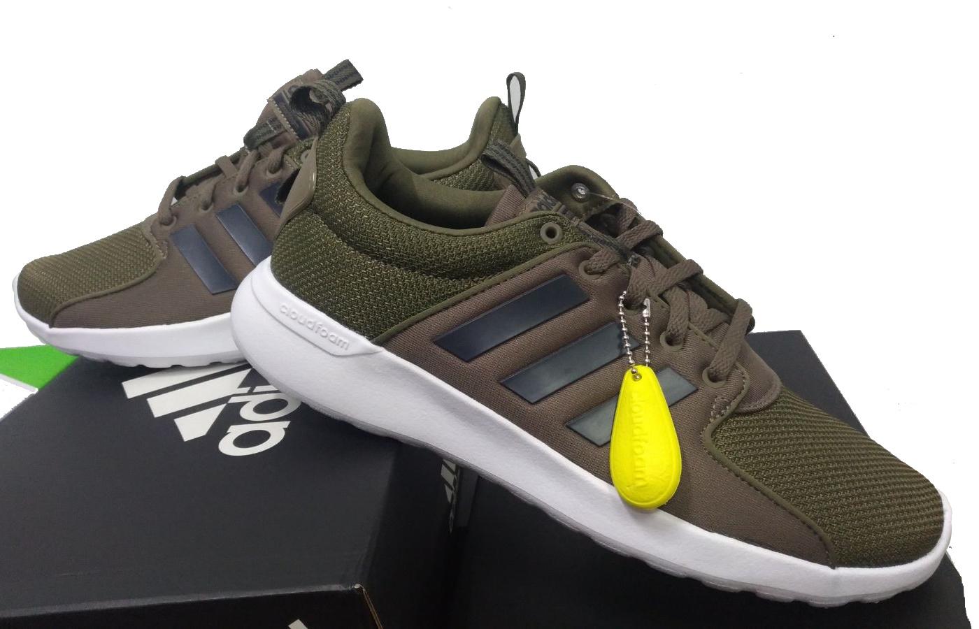 Adidas Scarpe Sneakers Trainers Sportive Ginnastica Tennis Lite Racer Verde  5 5 sur 9 ... d642e0e15eb