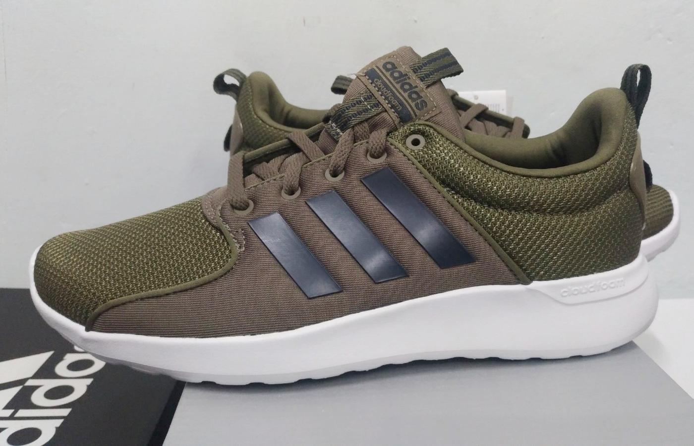 8 sur 9 Adidas Scarpe Sneakers Trainers Sportive Ginnastica Tennis Lite  Racer Verde f29a8be5eaca1