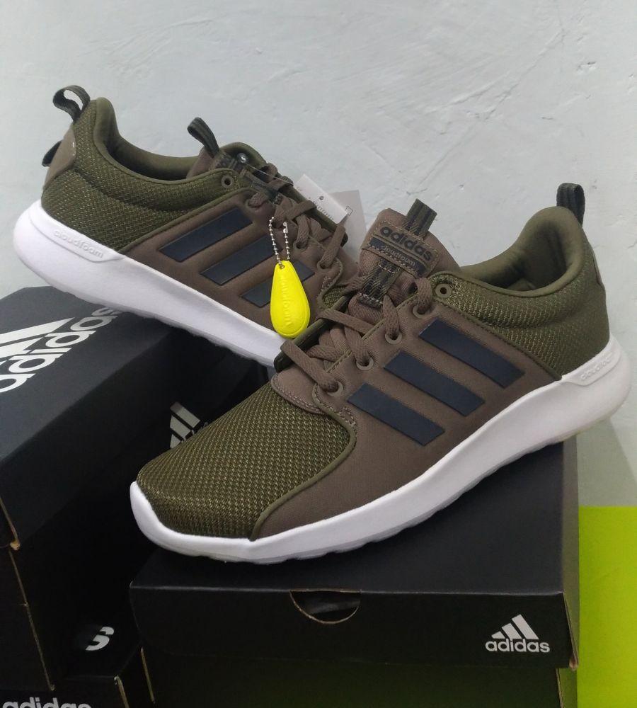 2 sur 9 Adidas Scarpe Sneakers Trainers Sportive Ginnastica Tennis Lite  Racer Verde e9635bb35dbf2