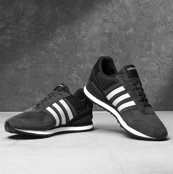 Adidas Scarpe Sneakers Sportive 10K 2018 19 Nero
