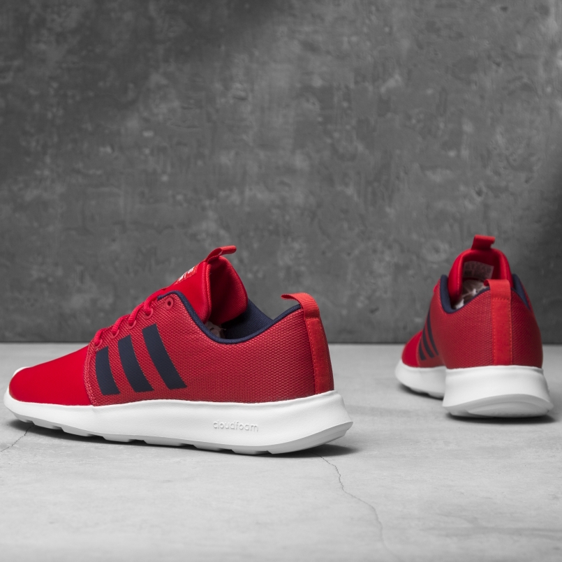 low priced cef30 07212 Adidas Scarpe Sneakers Running Sportive Ginnastica Cf Swift Racer Rosso 4 4  di 7 ...